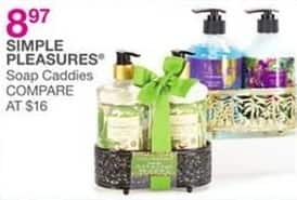 Bealls Florida Black Friday: Simple Pleasures Soap Caddies for $8.97