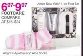 Bealls Florida Black Friday: Select Footcare Gift Sets: Jones New York 4-Piece Foot Set for $6.97 - $9.97