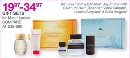Bealls Florida Black Friday: Select Fragrance Gift Sets: Tommy Bahama, Jay Z, Pit Bull and More for $19.97 - $34.97