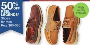 Bealls Florida Black Friday: Select Reel Legends Shoes for Men - 50% Off