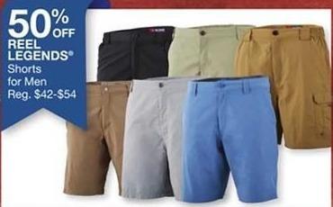 Bealls Florida Black Friday: Men's Reel Legends Shorts - 50% Off