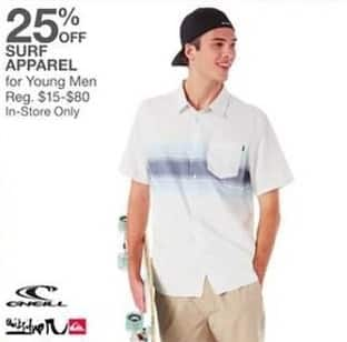 Bealls Florida Black Friday: Select Men's Surf Apparel: O'Neill and More - 25% Off