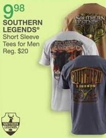 Bealls Florida Black Friday: Men's Southern Legends Short Sleeve Tees for $9.98