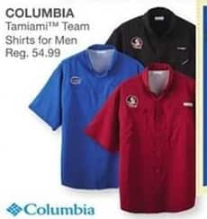 Bealls Florida Black Friday: Columbia Men's Tamiami Shirts for $54.99