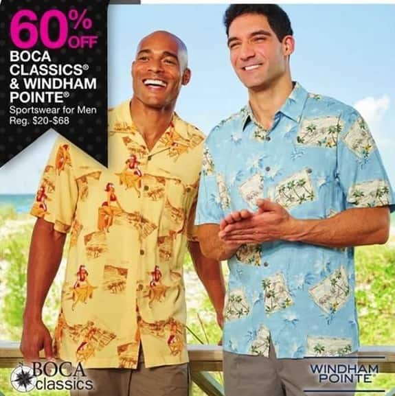 Bealls Florida Black Friday: Select Sportswear for Men: Boca Classics and Windham Pointe - 60% Off