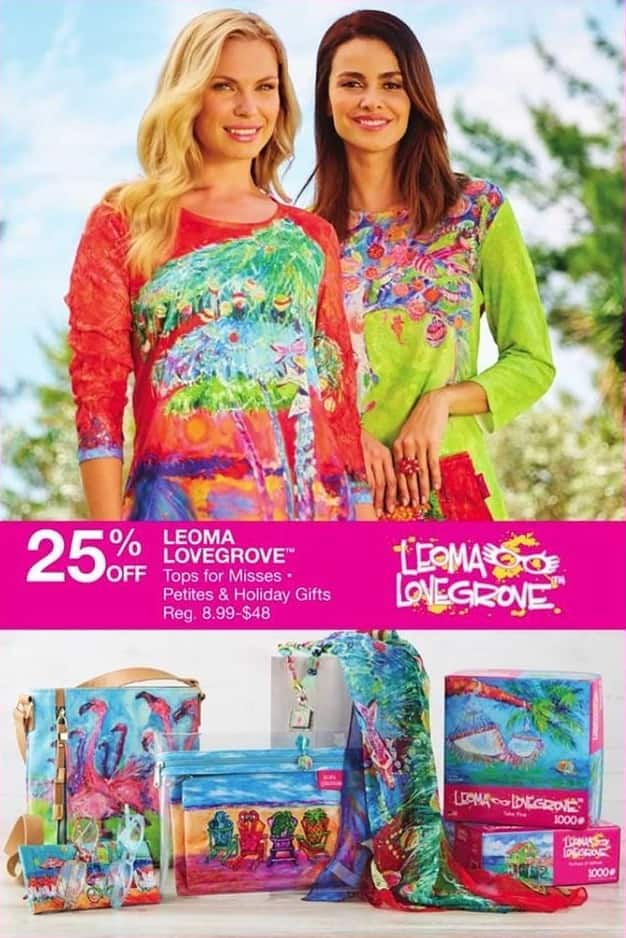 Bealls Florida Black Friday: Select Leoma Lovegrove Misses Tops - 25% Off