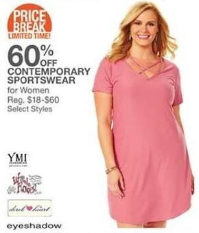 Bealls Florida Black Friday: Select Women's Contemporary Sportswear - 60% Off