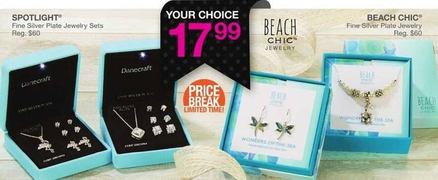 Bealls Florida Black Friday: Beach Chic Fine Silver Plate Jewelry for $17.99