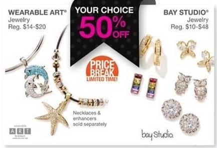 Bealls Florida Black Friday: Bay Studio or Wearable Art Jewelry - 50% Off