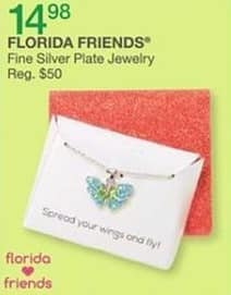 Bealls Florida Black Friday: Florida Friends Fine Silver Plate Jewelry for $14.98