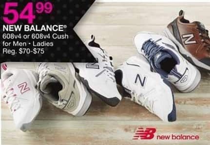 Bealls Florida Black Friday: New Balance Men's or Ladies' Sneakers for $54.99