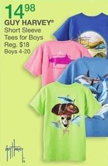 Bealls Florida Black Friday: Guy Harvey Short Sleeve Tees for Boys for $14.98