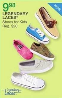 Bealls Florida Black Friday: Legendary Laces Shoes for Kids for $9.98