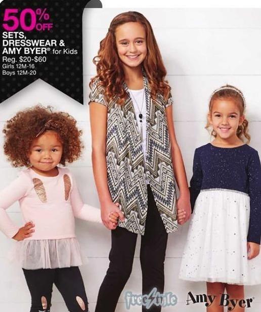 Bealls Florida Black Friday: Amy Byer Kids Sets and Dresswear - 50% Off