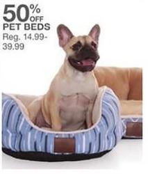 Bealls Florida Black Friday: Pet Beds - 50% Off