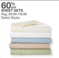 Bealls Florida Black Friday: Select Styles: Sheet Sets - 60% Off
