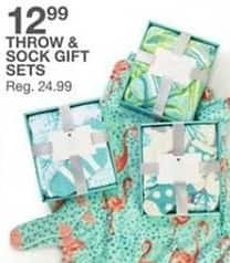 Bealls Florida Black Friday: Throw and Sock Gift Sets for $12.99