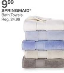 Bealls Florida Black Friday: Springmaid Bath Towels for $9.99
