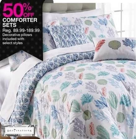 Bealls Florida Black Friday: Select Styles: Comforter Sets - 50% Off
