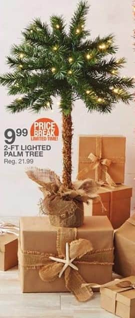 bealls florida black friday lighted palm tree 2 ft for 999