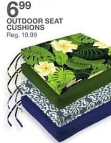 Bealls Florida Black Friday: Outdoor Seat Cushions for $6.99