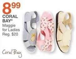Bealls Florida Black Friday: Coral Bay Maggie Shoes for Women for $8.99