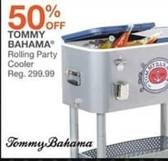 Bealls Florida Black Friday: Tommy Bahama Rolling Party Cooler - 50% Off