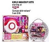 Burlington Coat Factory Black Friday: Girls Makeup Sets for $12.99