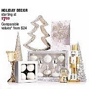 Burlington Coat Factory Black Friday: Select Holiday Decor for $7.99