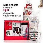Burlington Coat Factory Black Friday: Mug Gift Sets for $9.99