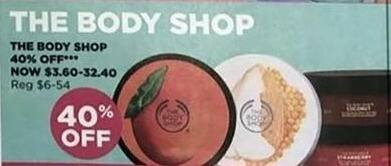 Ulta Beauty Black Friday: Select The Body Shop Skin Products for $3.60 - $32.40