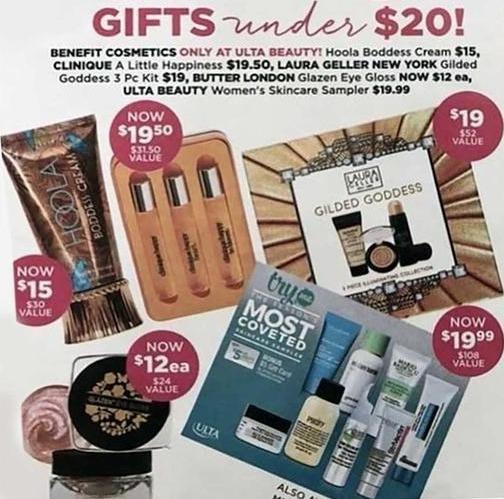 Ulta Beauty Black Friday: Laura Geller New York Gilded Goddess 3-Piece Kit for $19.00