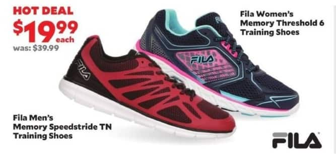 Academy Sports + Outdoors Black Friday: Fila Women's Memory Threshold 6 Training Shoes for $19.99