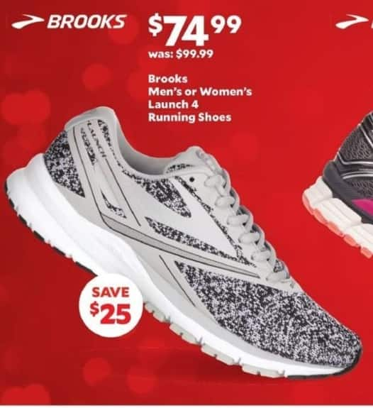 Academy Sports + Outdoors Black Friday: Brooks Men's or Women's Launch 4 Running Shoes for $74.99