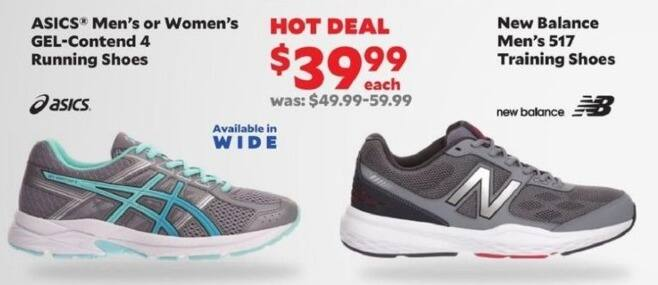 Academy Sports + Outdoors Black Friday: ASICS Men's or Women's GEL - Contend 4 Running Shoes for $39.99