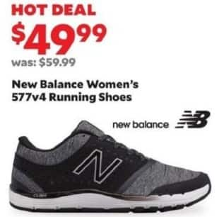 Academy Sports + Outdoors Black Friday: New Balance Women's 577v4 Running Shoes for $49.99