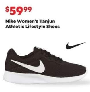 Academy Sports + Outdoors Black Friday: Nike Women's Tanjun Athletic Lifestyle  Shoes for $59.99