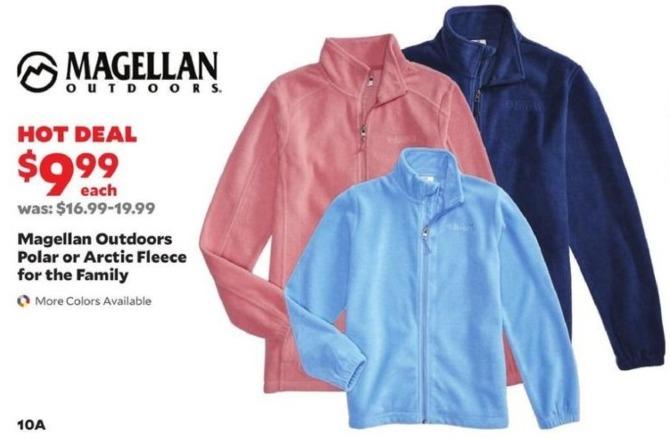 Academy Sports + Outdoors Black Friday: Magellan Outdoors Polar or Arctic Fleece for the Family for $9.99