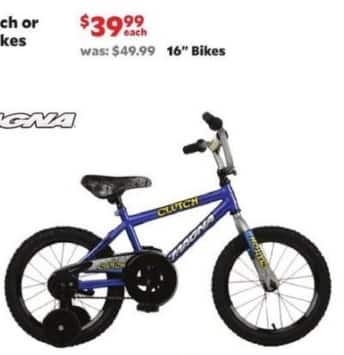 """Academy Sports + Outdoors Black Friday: Magna 16"""" Bikes for $39.99"""