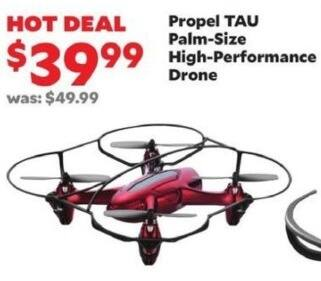Academy Sports + Outdoors Black Friday: Propel TAU Palm-Size High-Performance Drone for $39.99