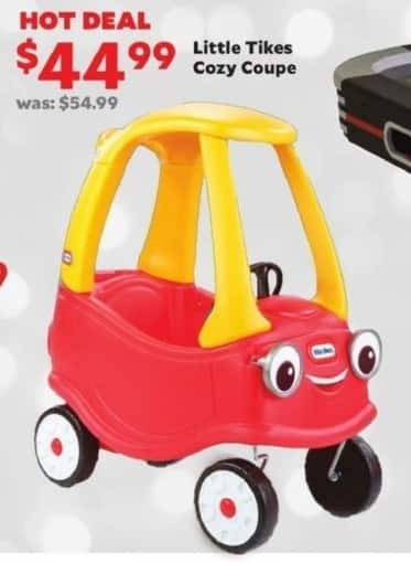 Academy Sports + Outdoors Black Friday: Little Tikes Cozy Coupe for $44.99