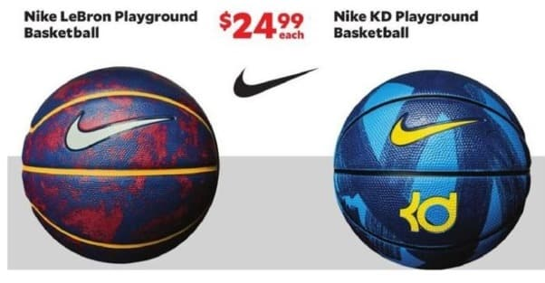 Academy Sports + Outdoors Black Friday: Nike LeBron Playground Basketball for $24.99