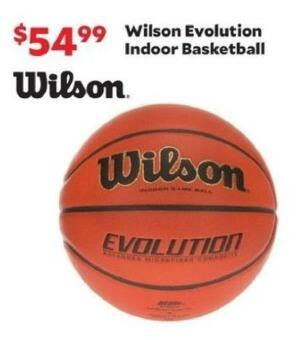 Academy Sports + Outdoors Black Friday: Wilson Evolution Indoor Basketball for $54.99