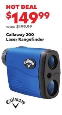 Academy Sports + Outdoors Black Friday: Callaway 200 Laser Rangefinder for $149.99