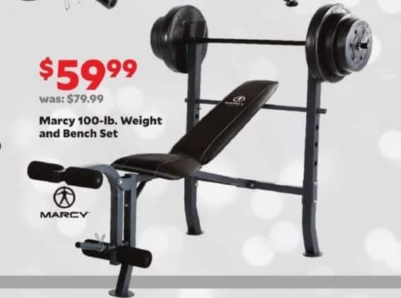 Academy Sports Outdoors Black Friday Marcy 100 Lb
