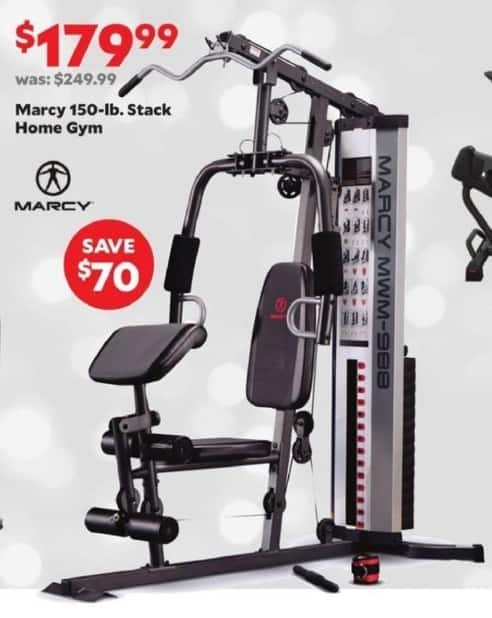 Academy Sports + Outdoors Black Friday: Marcy 150-lb. Stack Home Gym for $179.99