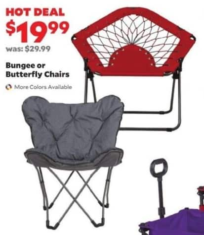Academy Sports + Outdoors Black Friday: Bungee or Butterfly Chairs for $19.99