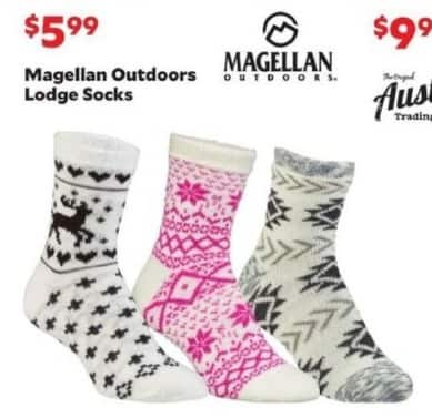 Academy Sports + Outdoors Black Friday: Magellan Outdoors Lodge Socks for $5.99