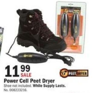 Mills Fleet Farm Black Friday: Power Cell Peet Dryer for $11.99