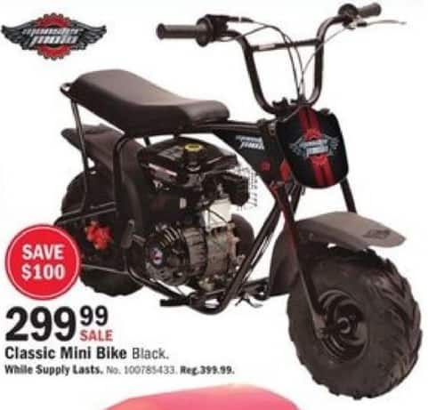 Mills Fleet Farm Black Friday: Classic Mini Bike for $299.99